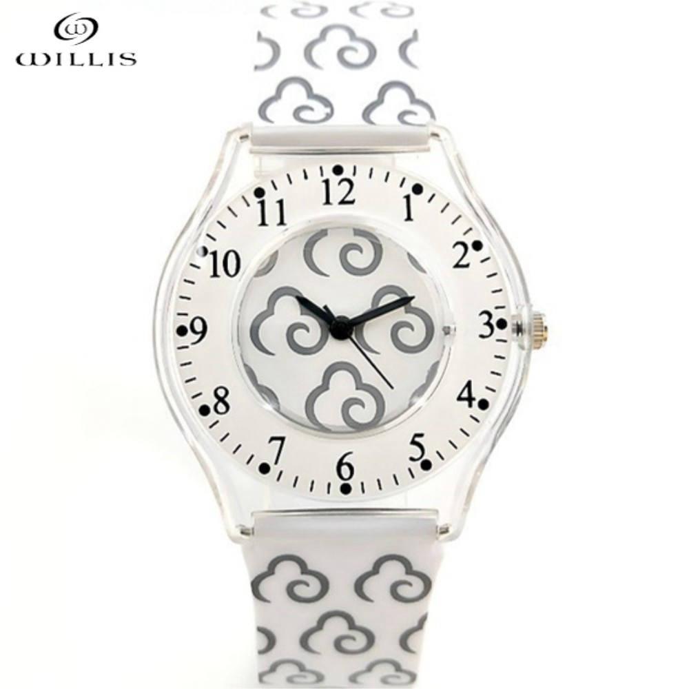 Women WILLIS Brand Watches Leisure Quartz Clock Waterproof Wristwatch Silicone Fashion Girls Ultra thin Band clock Ladies Watch цена