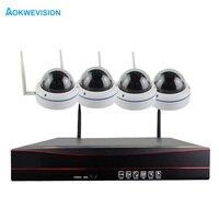 4CH 1080P Wireless NVR Kit Wifi CCTV System IR Outdoor Waterproof 1080p 2MP IP Camera P2P