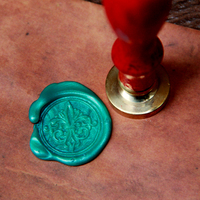 Fleur De Lys Seal Stamp Sealing Wax Seal Decorative Seal