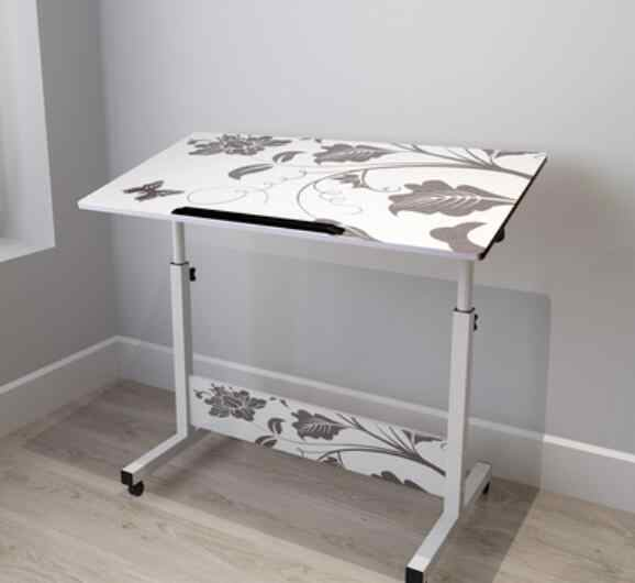 tavolino per la casa Table Scrivania per Computer Tavolo Pieghevole A, 80cm x 40cm scrivania