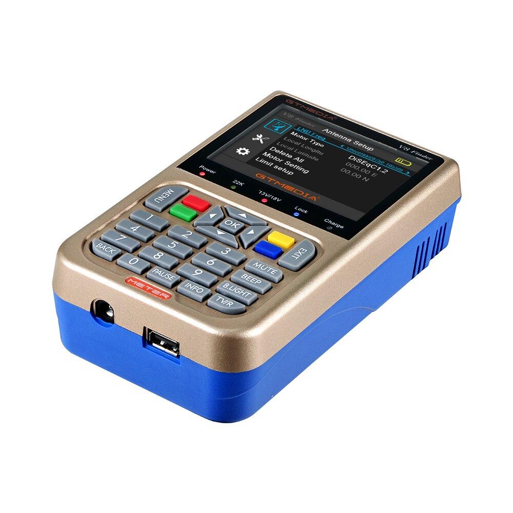 Image 3 - NEW V8 Finder Meter Satellite Finder Find Signal Meter Receptor For Sat TV LNB Digital TV Signal Satfinder Update From V8 Finder-in Satellite TV Receiver from Consumer Electronics