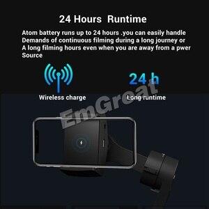 Image 3 - Складной стабилизатор Snoppa Atom, 3 осевой Карманный ручной стабилизатор для смартфонов iPhone, GoPro, с беспроводной зарядкой, PK Smooth Q2