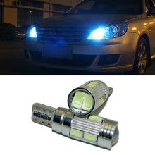 2 X Led W5W T10 canbus Car Light with Projector Lens for Lexus rx rx330 330 350 lx470 is200 is250 lx570 gx460 GX ES LX 300 250