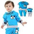 Anlencool Nueva Primavera de dos piezas traje de niño traje de Oso de Peluche envío libre ropa de bebé ropa de bebé conjuntos de ropa del bebé conjuntos