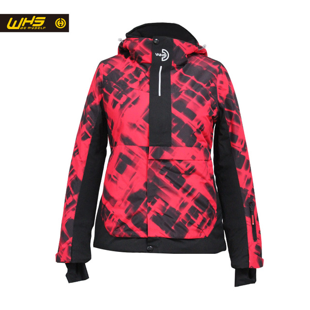 WHS 2017 New Women Outdoor Ski Jackets windproof Lady warm Coat womens snow jacket Teenager Slim clothes Female Warm Jacket