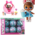 New arrival! 10cm LOL Surprise Doll Baby Dress Up Surprise Ball Action Figure Toys for Children Christmas Gift