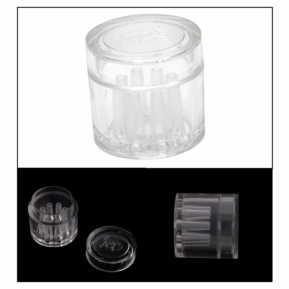 8 Holes Transparent Plastic Aquarium Tank Catcher Trap Tube Trapper for Planaria Worm Leech Fish Tank Supplies C42