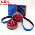 Ремень ГРМ + комплект передач для Nissan Skyline R32 R33 RB20 RB25DET RB26DET красный/черный/синий/фиолетовый