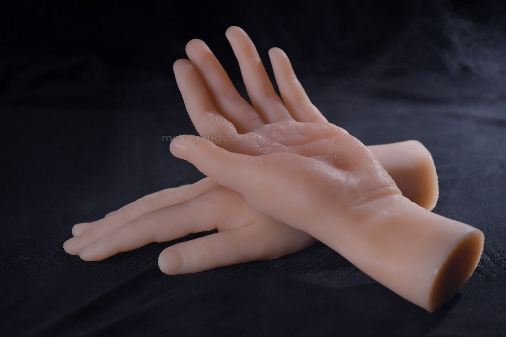 Fashionable High Quality Realistic Silicone Hand Manikin Female Hand Mannequin Hot Sale In Japan,silicone fetish hand hand in hand