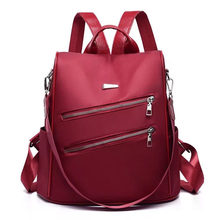 New Womens Backpack Oxford Women Fashion Designer Bag Teen Girl Travel Mochilas