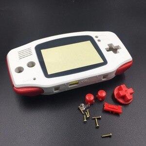 Image 4 - לבן עבור Nintendo Game Boy Advance GBA החלפת דיור פגז מסך