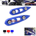 For YAMAHA YZF R25 YZFR25 YZF-R25 YZFR3 YZ-R3 YZF R3 Motorcycle Accessories Rearview Mirrors Base Plates Blue