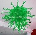 C194 конкурентоспособная цена зеленый стеклянный подвесной светильник