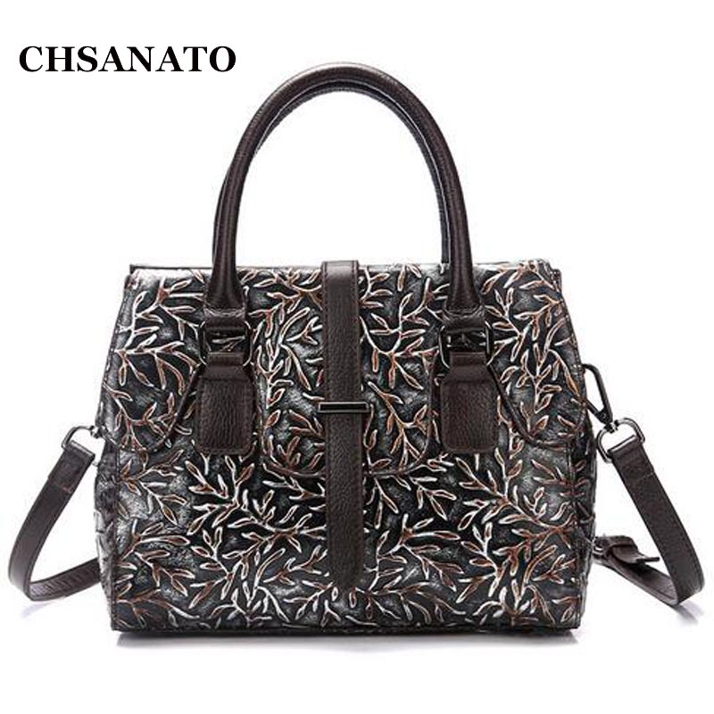 CHSANATO Original Woman Bags Handbag Women Famous Brand Leather Crossbody Bags For Women Messenger Bag Ladies Handbag Sac A Main pu high quality leather women handbag famous brand shoulder bags for women messenger bag ladies crossbody female sac a main