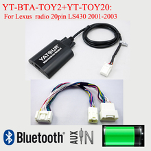 Car-Stereo Radio Yatour Bluetooth Toyota Lexus LS430 Free-Kit Music-Hands for Lexus/Radio/Radio/..