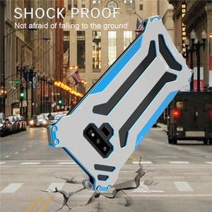Image 3 - R net Armor Case Metal protect Voor Samsung Galaxy Note 8 S7 Rand S8 Plus Schokbestendig Stofdicht Cover voor galaxy Note 9
