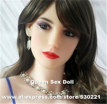 WMDOLL Top quality oral sex doll head for silicone adult doll, oral sex toy for men, life like real love doll head sex products
