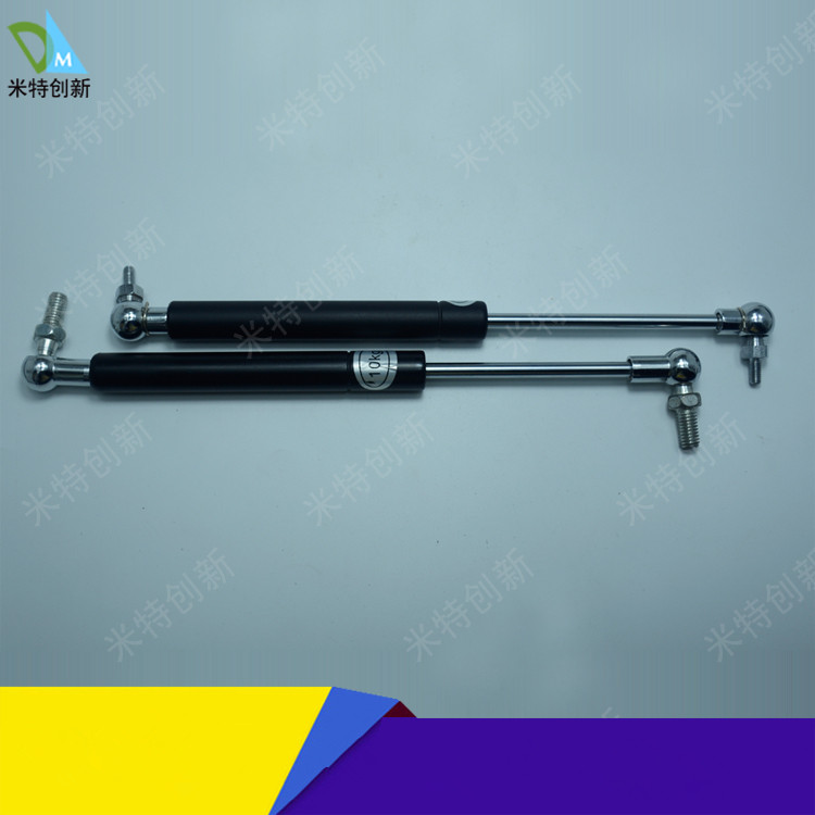20-400N Force Auto Gas Spring Damper Ball Gas Strut Shock Spring 40-150mm Stroke free shipping500mm central distance 200mm stroke 80 to 1000n force pneumatic auto gas spring lift prop gas spring damper