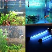 15 W 3.7 M IP68 Waterdicht 110 V-240 V Aquarium Aquarium UV Licht Dompelpompen UV Sterilisator Lamp met Power Adapter Drop Verzending