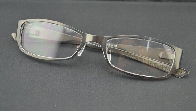 Alta Qualidade Placa De Metal Óculos de grau, esporte titanium frame ótico ox5007, frete grátis