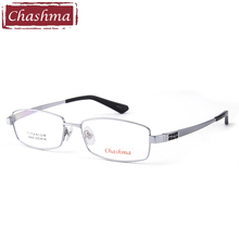 Pure Titanium Priscription Eye Glasses High Quality Optical Mens Eyewear Frame