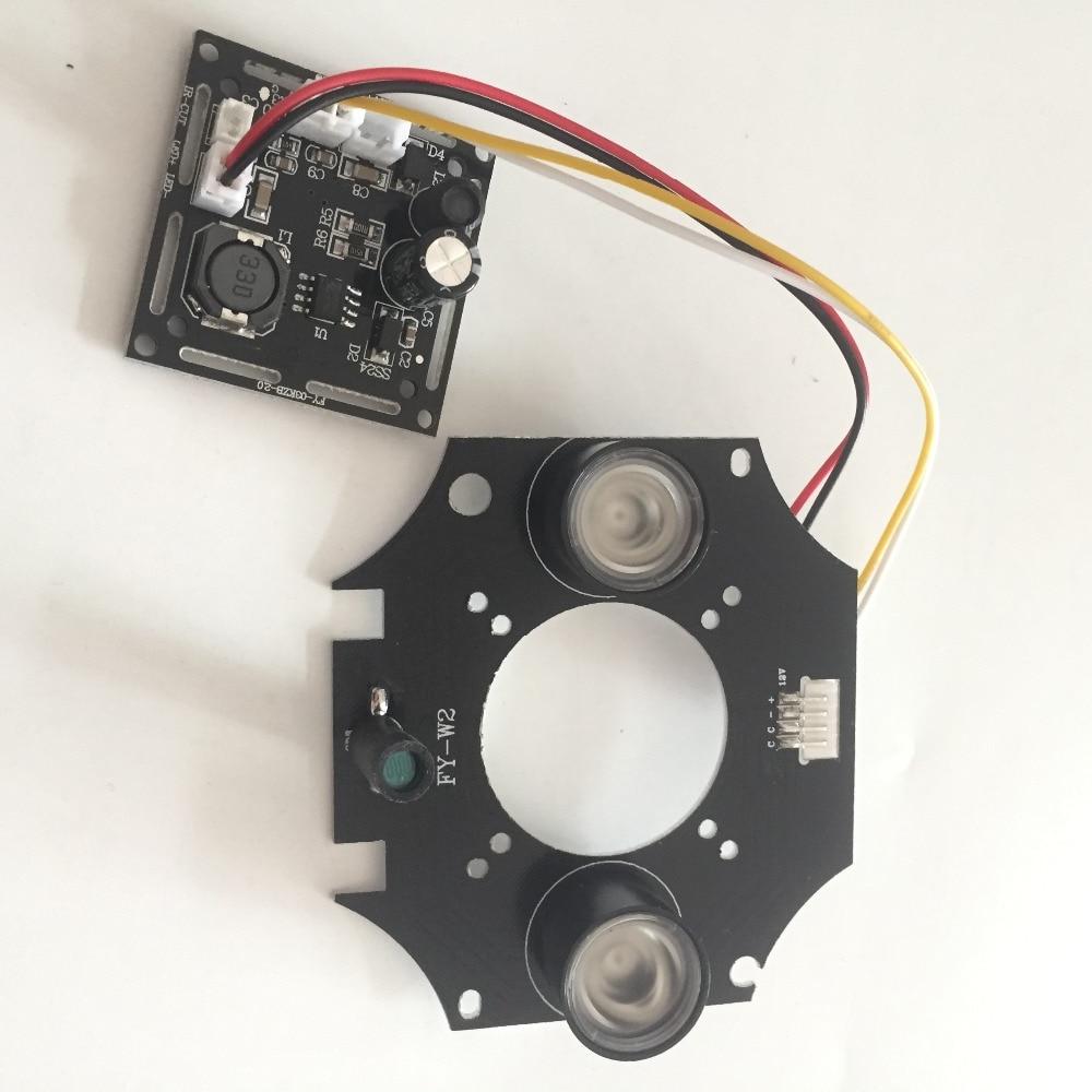 New array IR led Spot Light conseil Infrarouge pour CCTV Caméras nuit vision Pour En Plein Air Étanche Caméra CVI TVI AHD WiFi 1080 P