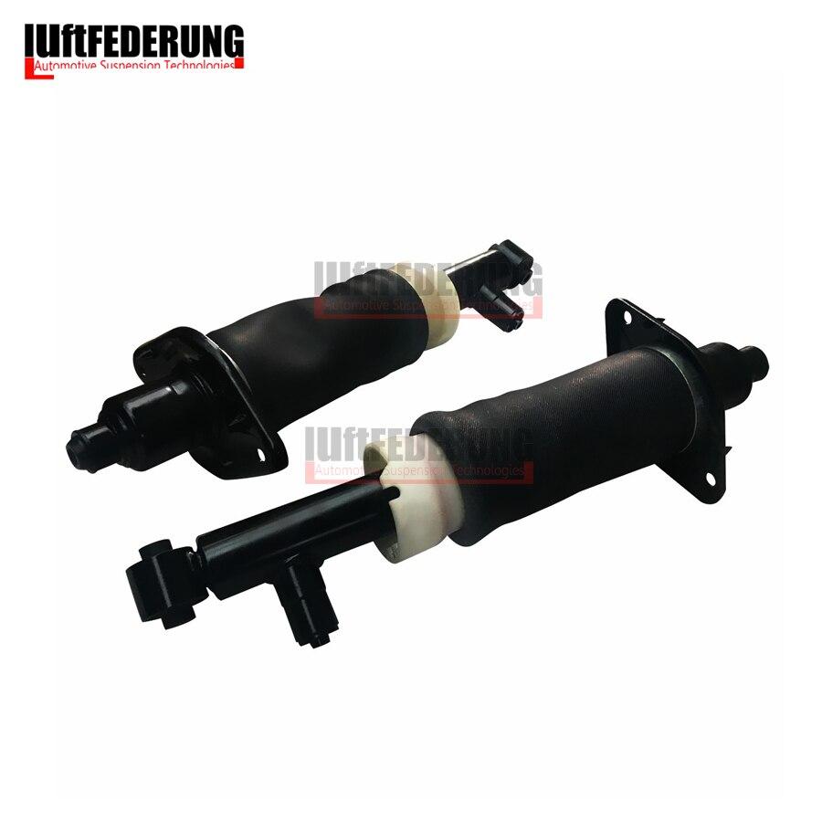 Luftfederung 2 шт. Подвеска пневматическая амортизатор сзади весна воздуха в сборе Fit Audi A6 C5 4Z7616051A 4Z7616052A