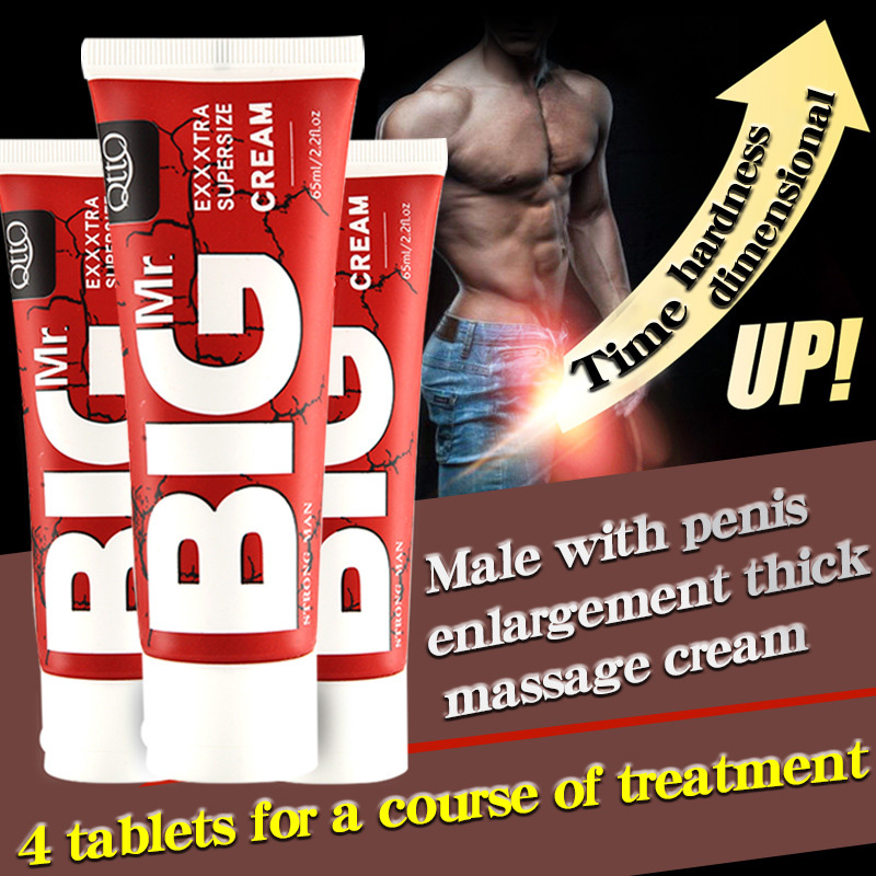 Herbal Big Dick Penis Enlargement Cream 65ml Increase Xxl Size Erection Products Sex Products For Men Aphrodisiac Pills For Man(China)