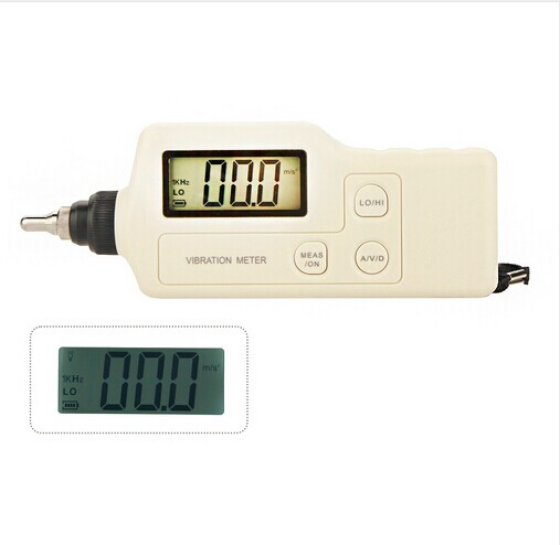 Vibration Analyzer Tester Meter Vibrometer GM63A High Quality Portable AC Output Digital With LCD Backlight  цены