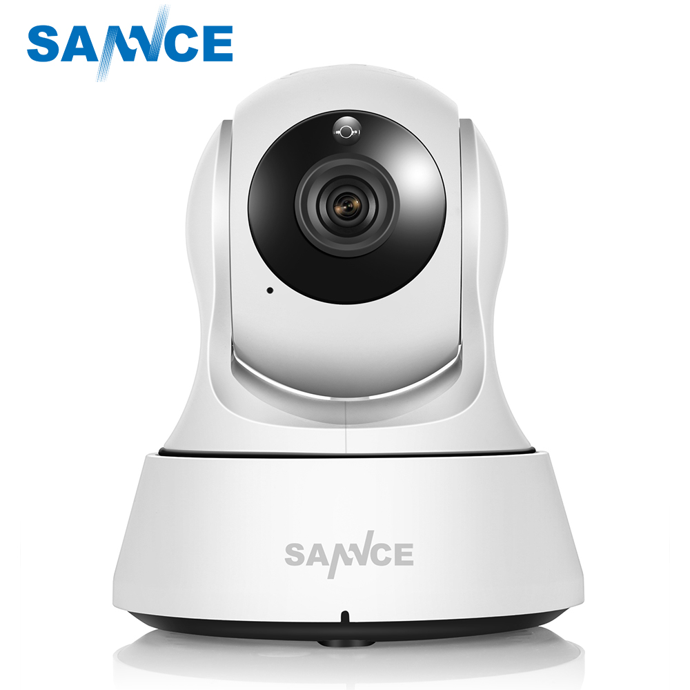 SANNCE Wifi IP Camera HD 720P Wireless 1MP Smart CCTV Security Camera P2P Network Baby Monitor Home Protection Mobile Remote Cam цена 2017