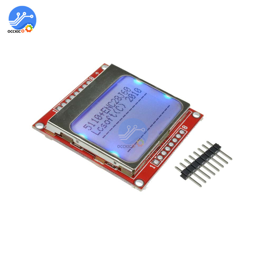 LCD Display Screen Module White backlight 84*48 84x84 for Nokia 5100 Screen Control Board for Arduino
