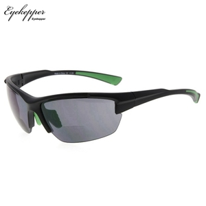 Image 1 - SG901 Eyekepper TR90 Sports Half Rimless Bifocal Sunglasses Baseball Running Fishing Driving Golf Softball Hiking Readers