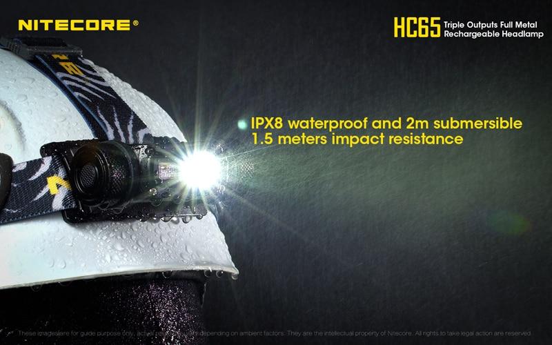 Nitecore HC65 1000 Lumens Rechargeable Headlamp (27)
