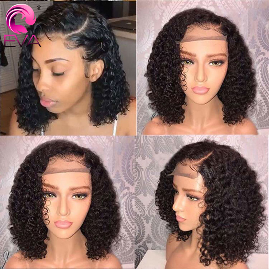 Hair Extensions & Wigs Lace Wigs Responsible Eva Hair Short Curly Full Lace Human Hair Wigs With Baby Hair Brazilian Remy Hair Full Lace Bob Wigs Pre Plucked Bleached Knots