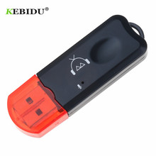 KEBIDU USB Bluetooth pojawi V2.1 Bluetooth bezprzewodowy adapter audio AUX Stereo z mikrofonem do samochodowa USB MP3 z głośników do