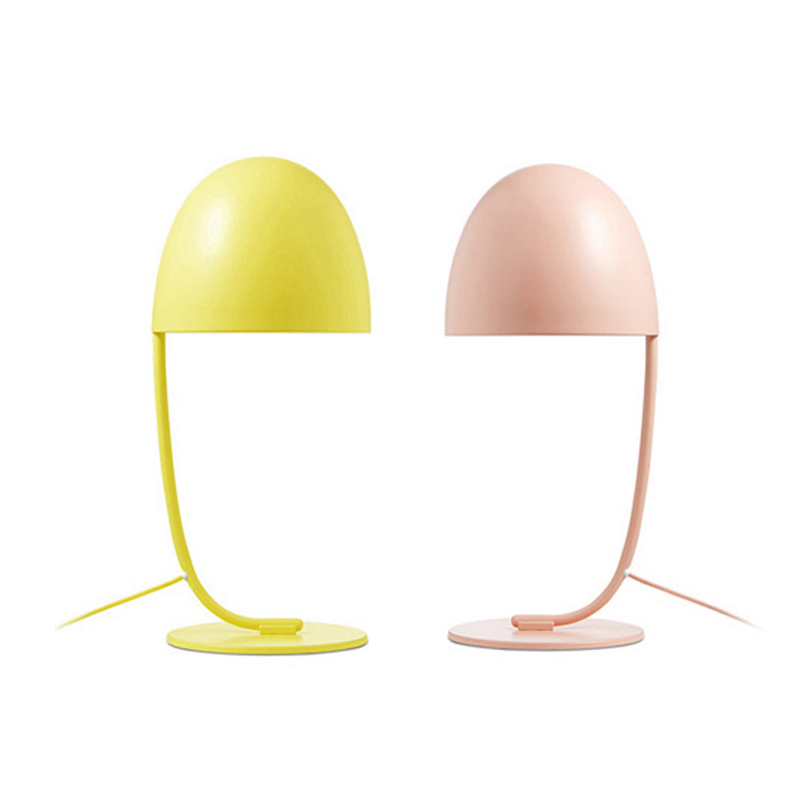 Modern simple Table Light creative floor light yellow pink Macaron color floor light shop home kids room personality decoration