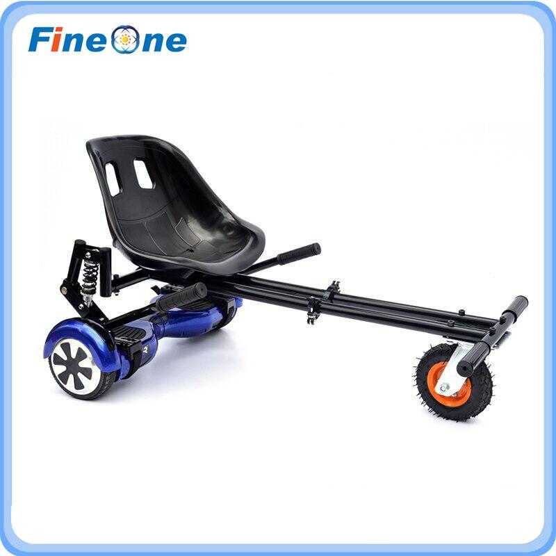 Go Kart sièges Hoverboard sièges Hoverkart avec amortisseur Karts cadre Karting sièges Skateboard cadre pour Scooter électrique d'équilibre - 2