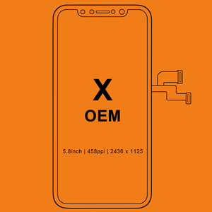 Image 1 - Grade For iPhone X S Max XR LCD Display For Tianma OLED OEM Touch Screen With Digitizer Replacement Assembly Parts Black