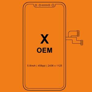 Image 1 - ЖК дисплей для iPhone X S Max XR, Tianma OLED OEM тачскрин с дигитайзером, сменные запчасти в сборе, черный
