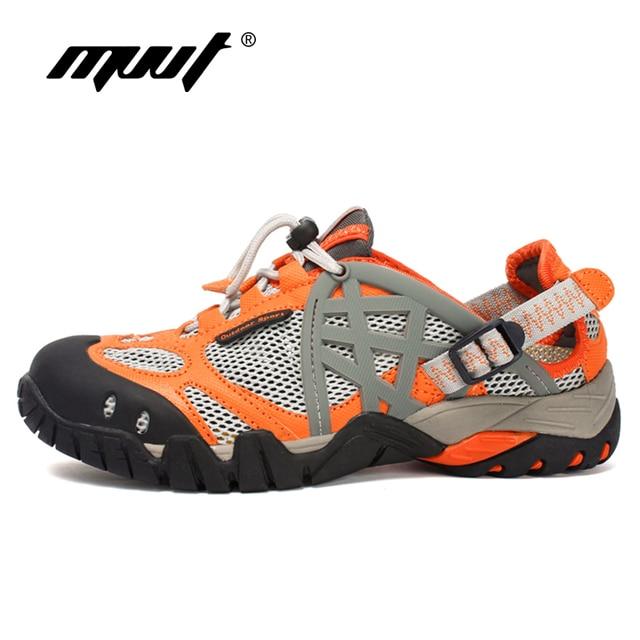 Quality Men Outdoor Hiking Shoes Summer Breathable Men Sneakers Quick Drying Aqua Shoes Water Shoe Climbing Trekking shoes