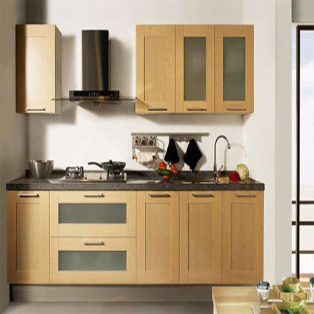 Modern Forma Ilha Projeto Arm Rios De Cozinha Modular De Madeira