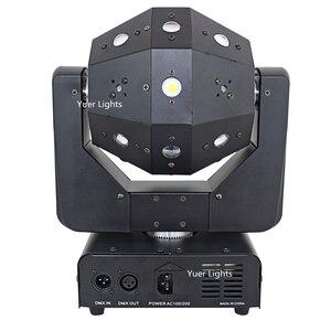 Image 3 - 3IN1 شعاع الليزر ستروب أضواء 16X3W تتحرك رئيس ضوء كرة القدم DMX512 أضواء الليزر DJ/ديسكو/بار/حفلة/عرض/مرحلة الإضاءة