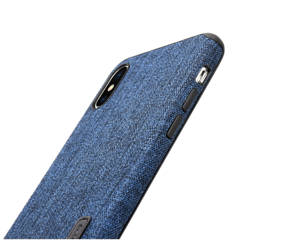MLLSE Cloth Case For iPhone X Fashion Linen Cloth & Soft TPU Silicone Anti-knock Cover For iPhone 10 Shockproof Protective Funda (11)
