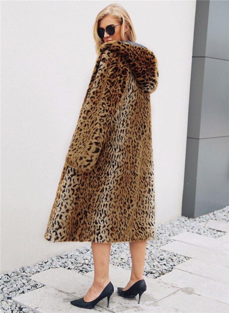 2018 fashion European and American women\`s fashion leopard long coat female fashion women\`s hooded coat (6)