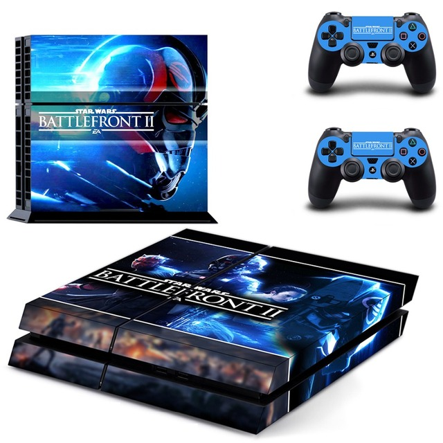 Star wars battlefront ii sticker ps4 skin decal sticker for playstation4 console and 2 controller skins