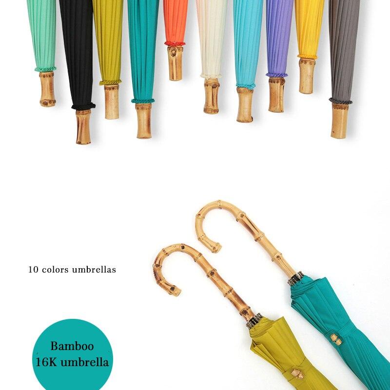 Bamboo Windproof Umbrellas Windproof 1