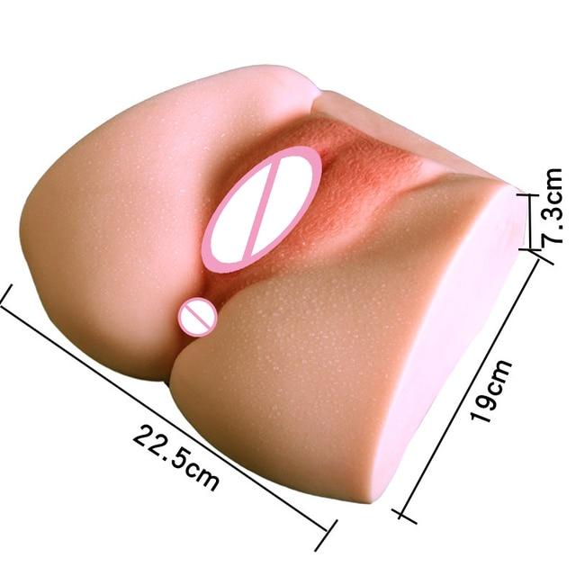 11 Male Masturbator Lifelike Virgin Pussy Double Hole 3d Realistic Tight Vagina Ass Sex