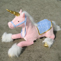 Lindo 90 cm al por mayor de caballo Unicornio Caballo de peluche juguetes de peluche de felpa muñeca de trapo de peluche de felpa animales de peluche muñeca de regalo de cumpleaños