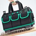 AIRAJ 13/16/18/20 дюймов новая сумка для инструментов, большой Ёмкость Водонепроницаемый сумка для электрика Пластик дно Для Мужчин's скошенная сум...