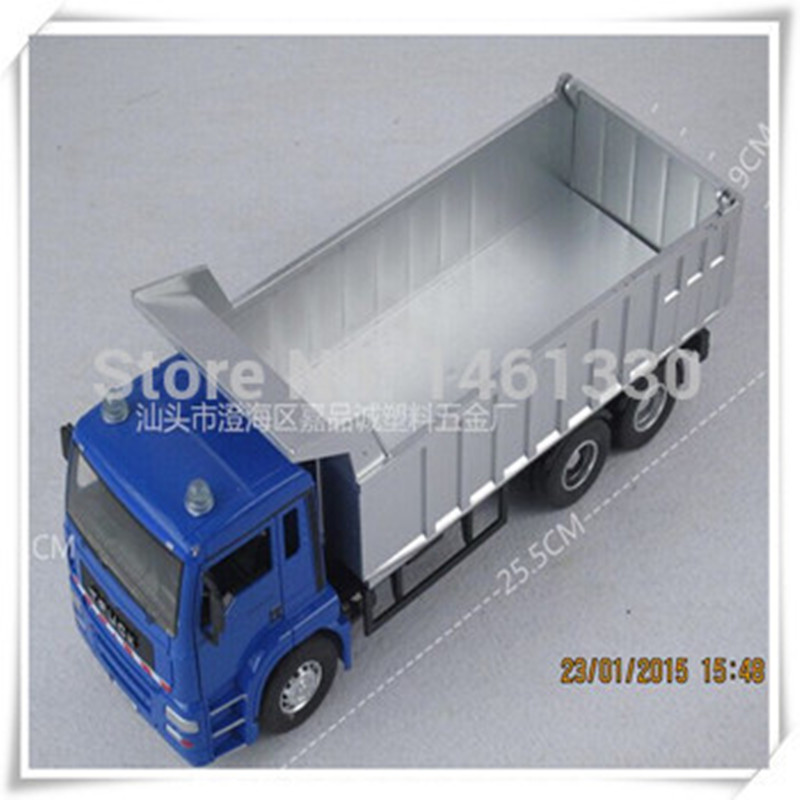 Tipper truck model car kids toys car scale models miniatures truck rc car miniature modelador toy trucks and trailers camion